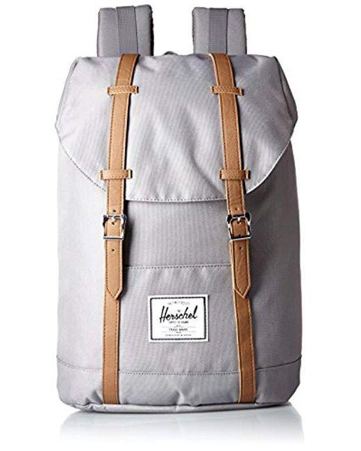 29983328345c Lyst - Herschel Supply Co. Retreat Backpack in Gray for Men - Save ...