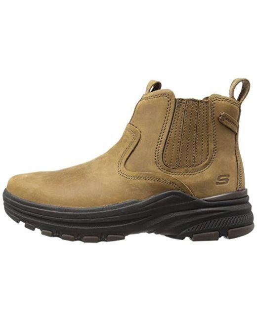 bacf84c5 ... Skechers - Brown Usa Holdren Volsent Chukka Boot for Men - Lyst ...