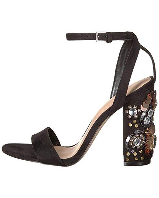 1eaf3e2248b ... ALDO - Black Luciaa Dress Sandal - Lyst ...