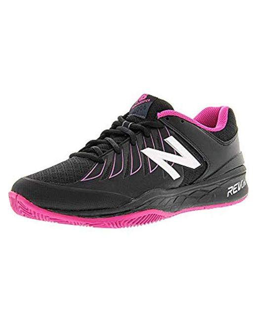 New Balance - Black Wc1006v1 (reflection/rose Gold) Women's Tennis Shoes - Lyst