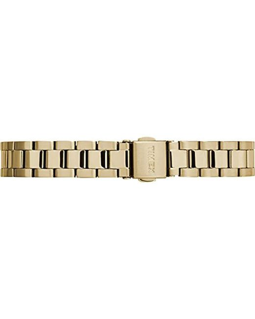... Timex - Metallic Easy Reader Stainless Steel Bracelet Watch - Lyst ... a8181ba53db