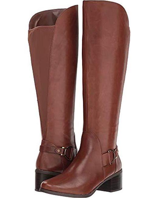 6cb0bf7d72d Anne Klein - Brown Jamee Knee High Boot
