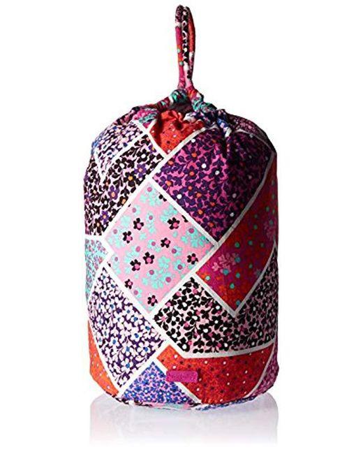 Vera Bradley - Multicolor Iconic Ditty Bag - Lyst ... f380cb5200db2