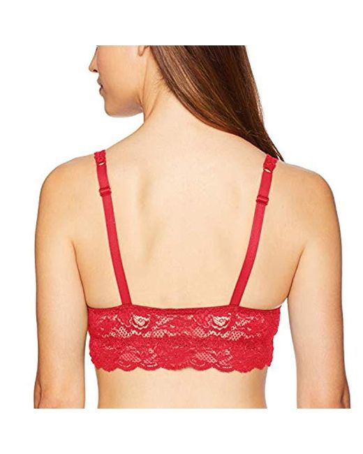8950123abce02 ... Cosabella - Red Say Never Mommie Nursing Bra - Lyst ...