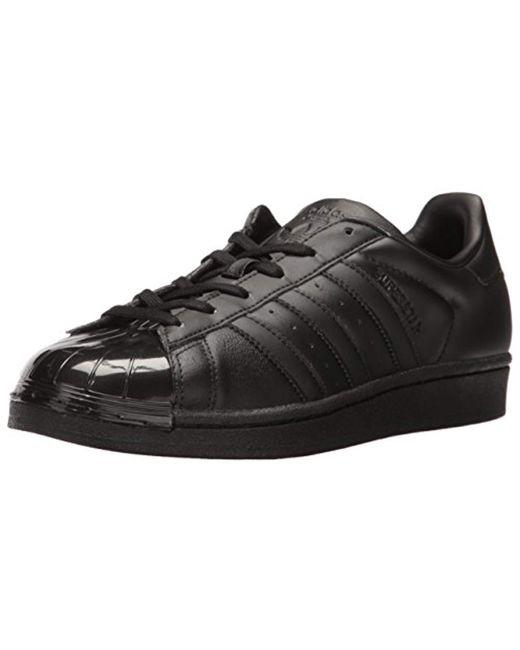sale retailer 6d5c6 8dde2 Adidas Originals - Black Superstar Glossy Toe W Fashion Sneaker - Lyst ...