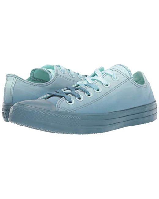 a3214b74169a Converse teal tintcelestial teal unisex chuck taylor all star dip dye low  top sneaker jpg 520x650