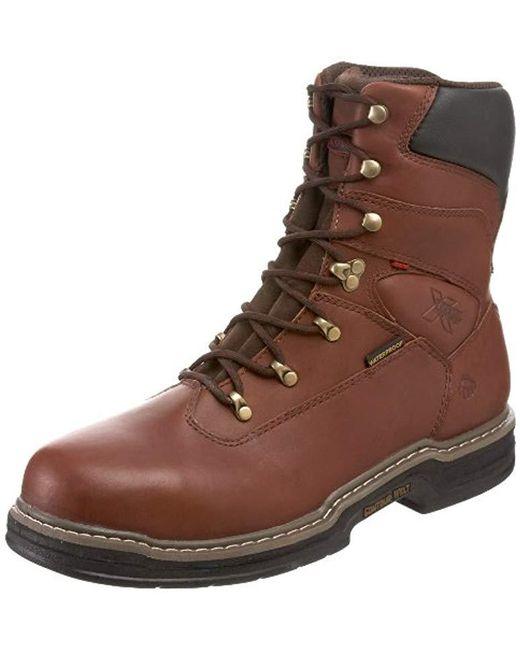 fc2b633254e Men's Brown W04822 Buccaneer Steel-toe Eh Waterproof Work Boot