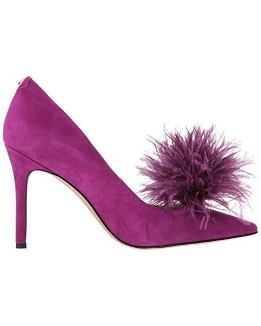 52e36b681d174f ... Sam Edelman - Purple Haide Pump - Lyst ...