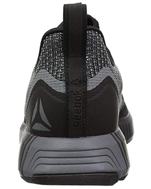 4225a7f51f76 ... Reebok - Black Fusion Flexweave Sneaker for Men - Lyst ...