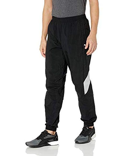 8eef97fd3c78 PUMA - Black Mercedes Mapm Woven Pants for Men - Lyst ...