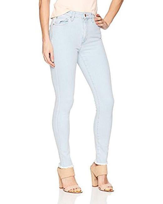 Joe's Jeans - Blue Flawless Charlie High Rise Skinny - Lyst