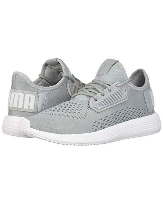 official photos b1689 2b9c8 ... PUMA - White Uprise Mesh Sneaker - Lyst ...