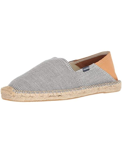 Soludos - Blue Stripe Convertible Original Slipper for Men - Lyst