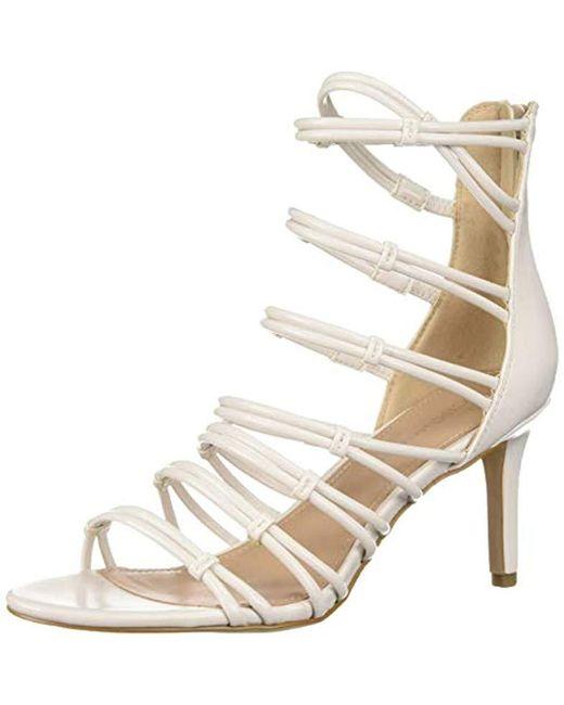 7ece986e73 BCBGeneration - Multicolor Maria Caged Dress Sandals - Lyst ...