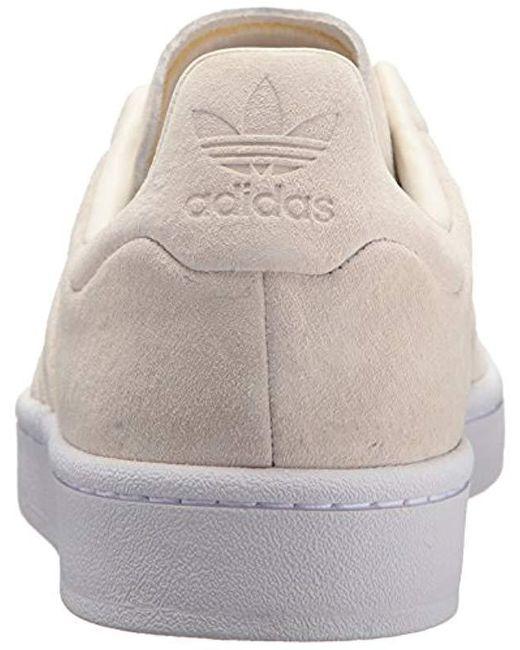 pretty nice df1c3 e5ca3 ... Adidas Originals - White Campus Stitch And Turn for Men - Lyst ...