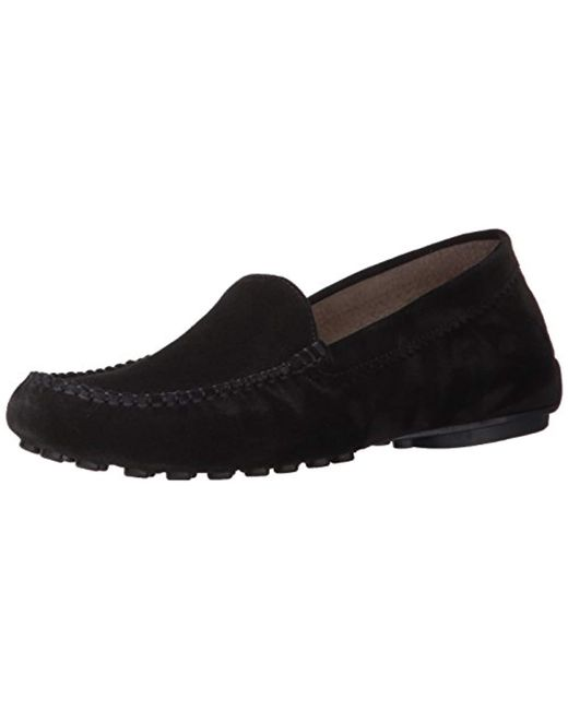 French Sole Black Stella Loafer