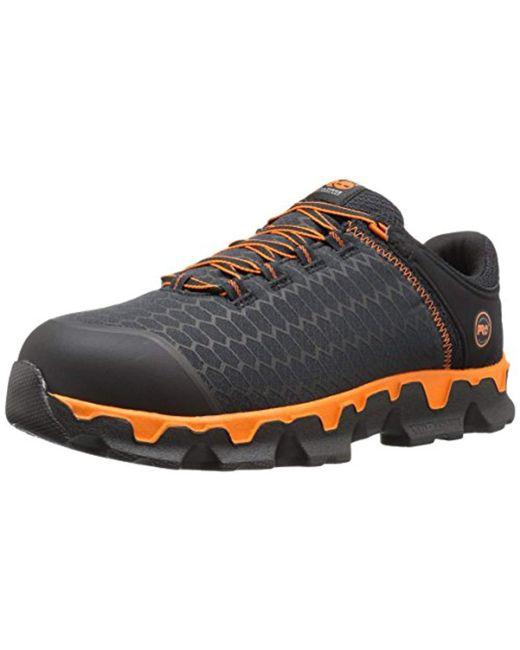 004dab05d82 Timberland - Black Powertrain Sport Alloy-toe Eh Industrial   Construction  Shoe for Men ...