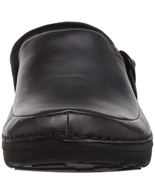 8897e90b3 ... Fitflop - Black Gogh Pro In Leather Medical Professional Shoe for Men -  Lyst ...