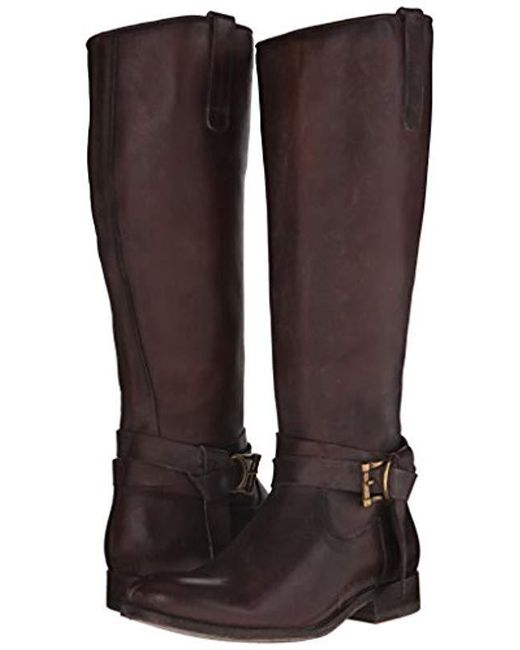 1525a32ec4c Women's Black Melissa Knotted Tall Riding Boot, Dark Brown, 11 M Us