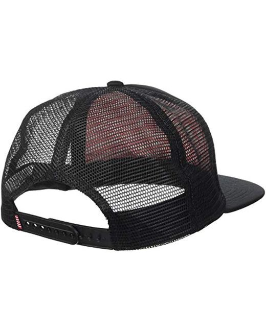 5479d1d2366 ... Herschel Supply Co. - Black Whaler Mesh Patch for Men - Lyst ...