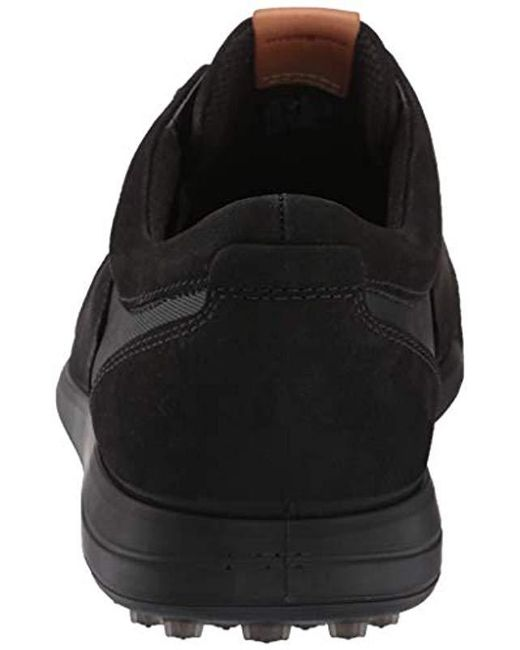 c945f07ecfe5b Ecco Street Retro 2.0 Golf Shoes in Black for Men - Save 1% - Lyst
