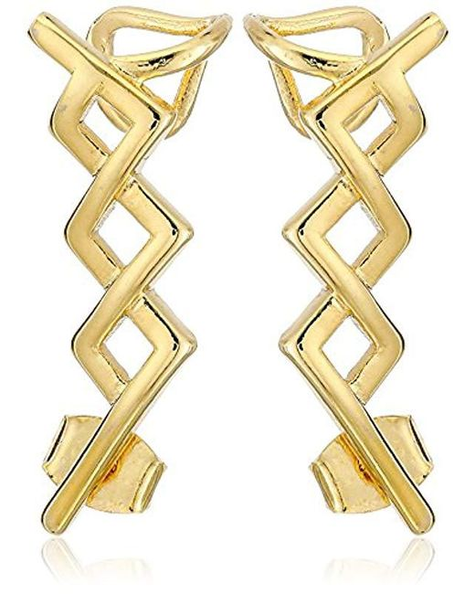 Noir Jewelry - Metallic Greeley Ear Cuffs - Lyst