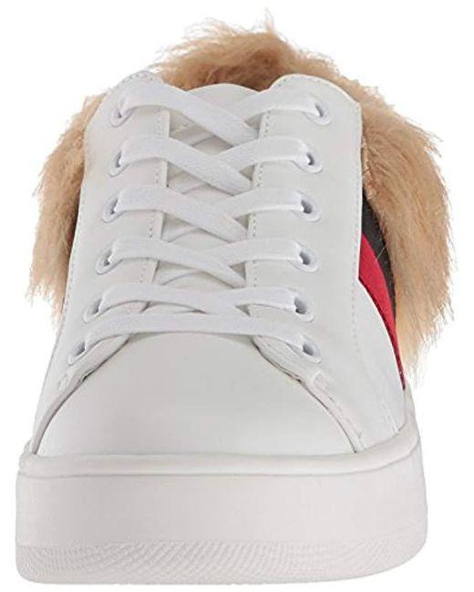0ee6daa753a Lyst - Steve Madden Belle-f Sneaker in White - Save 61%