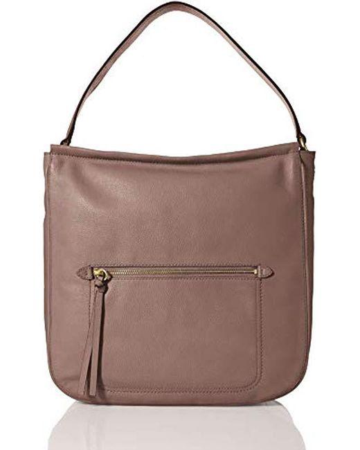 d9b8da66dbd Cole Haan - Multicolor Jade Leather Bucket Hobo Bag - Lyst ...
