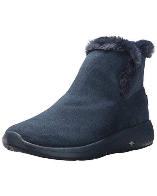 Skechers - Blue On-the-go City-bundle Winter Boot - Lyst