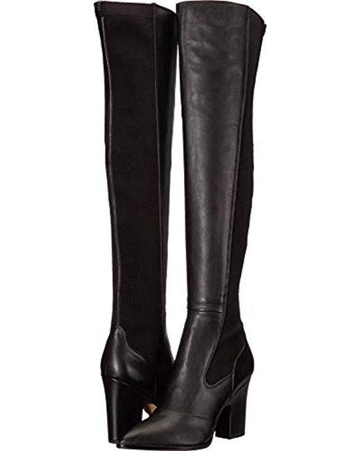 7c7795ef59c5 Sam Edelman - Black Natasha Over The Knee Boot - Lyst ...