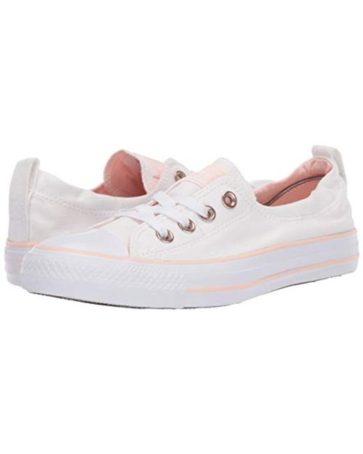 dcbfb8533e5783 ... Converse - White Chuck Taylor All Star Shoreline Linen Slip On Sneaker  - Lyst ...