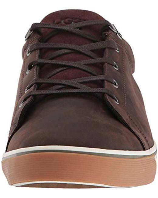40c8a38a0a1 Lyst - UGG Men s Brock Ii Waterproof Sneaker in Brown for Men - Save 1%