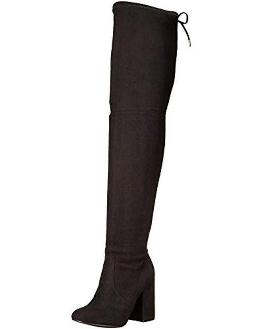 b7f174eb815c Steve Madden Norri Harness Boot in Black - Save 29% - Lyst