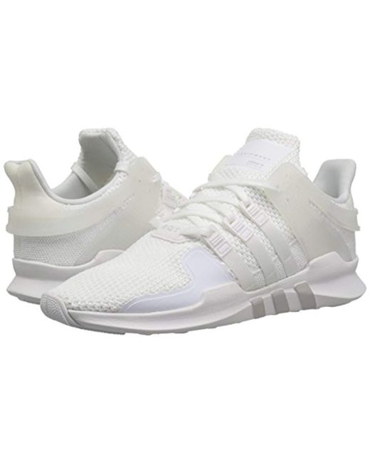 competitive price 7b065 18222 ... Adidas Originals - White Eqt Support Adv Running Shoe - Lyst ...