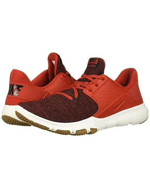 648d3591 ... Nike - Flex Control Tr3 Sneaker, Mystic Red/black for Men - Lyst ...