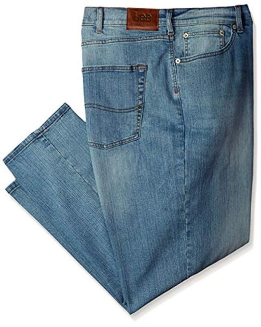 ed5d24d3 Lee Jeans - Blue Big And Tall Modern Series Athletic Fit Jean for Men - Lyst