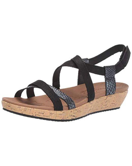 separation shoes outlet online good looking Women's Black Brie Sandal