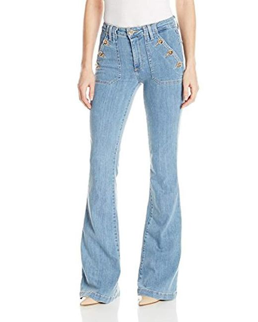 PAIGE - Blue Bell Canyon Flare Jean - Lyst
