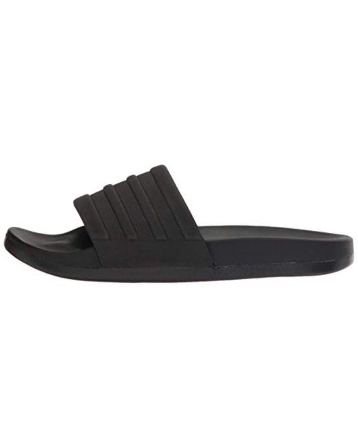 0b58be8a84d2 Lyst - adidas Adilette Comfort Slide Sandal Black