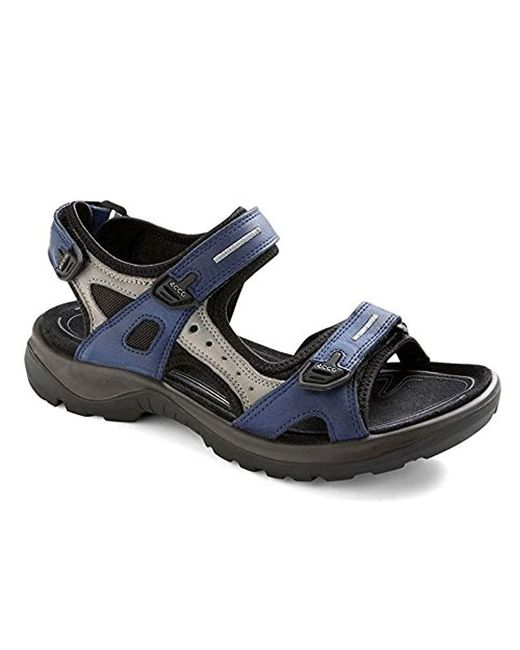 Ecco - Blue Yucatan Sandal - Lyst