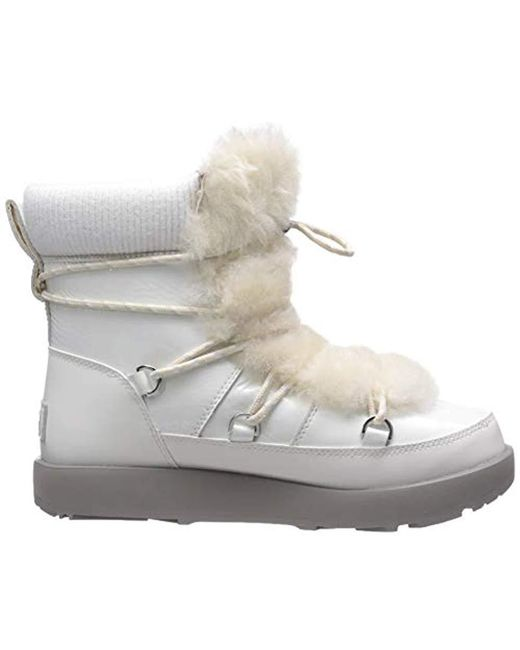 3bff5f7f2be Women's White W Highland Waterproof Fashion Boot