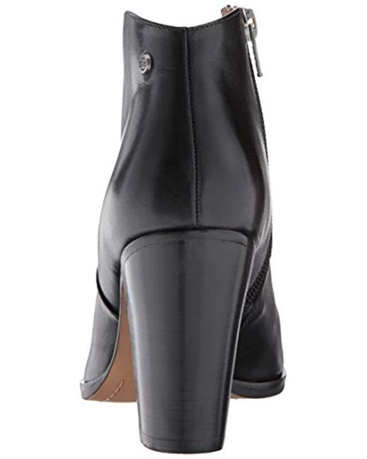 5726a83fdfe ... 206 Collective - Black Everett High Heel Ankle Bootie - Lyst ...