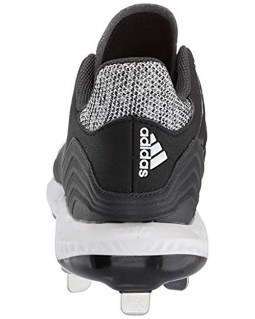 hot sale online ad161 9f11e ... Adidas - Black Icon Bounce Cleat for Men - Lyst ...