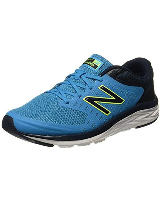 Men's Blue 490v5 Running Shoe