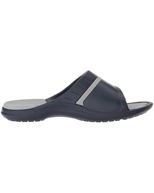 adc4c4ba02df ... Crocs™ - Gray Unisex Modi Sport Slide Sandals - Lyst ...