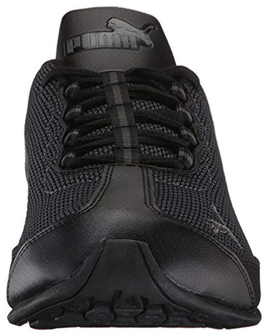 efc98f4caeb3a4 Lyst - PUMA Reverb Knit Running Shoes in Black for Men - Save 10%