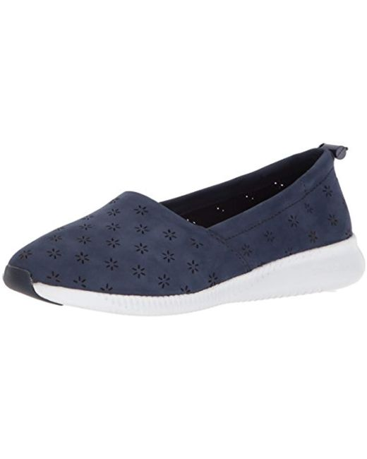 Cole Haan - Blue Studiogrand Perf Slip On Loafer - Lyst
