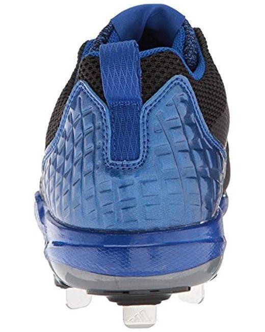 detailing 820ff fa2bc ... Adidas - Freak X Carbon Mid Baseball Shoe, Blackmetallic  Silvercollegiate Royal ...