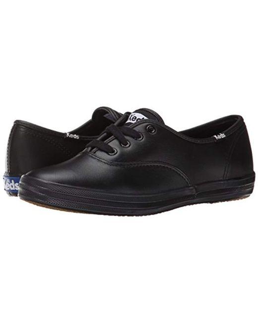 9f4f0e3812fc0 Lyst - Keds Champion Originals Leather - in Black - Save 6%