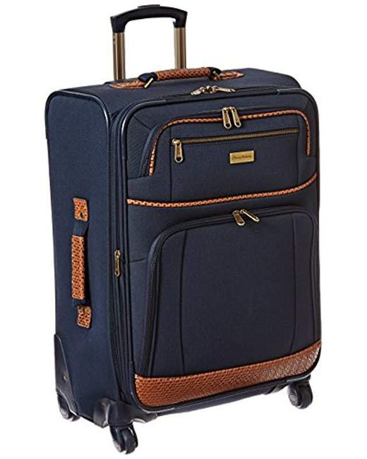 Tommy Bahama Blue Expandable Spinner Suitcase Luggage For Men Lyst